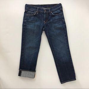 COH Kelly #063 stretch crop jeans 26 Citizens